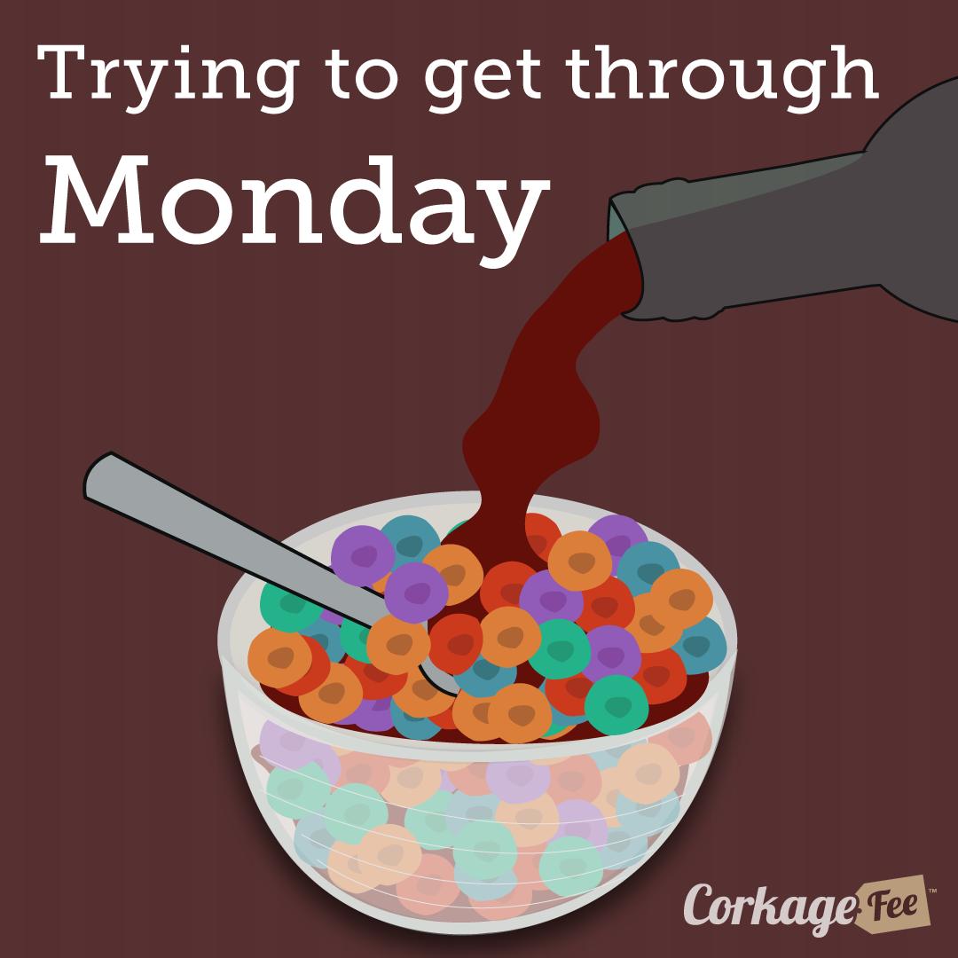 Monday wine breakfast